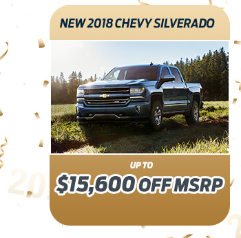 New 2018 Chevy Silverado