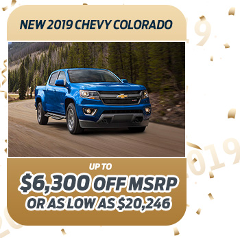 New 2019 Chevy Colorado
