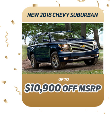 New 2018 Chevy Suburban