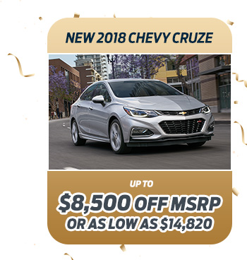 New 2018 Chevy Cruze
