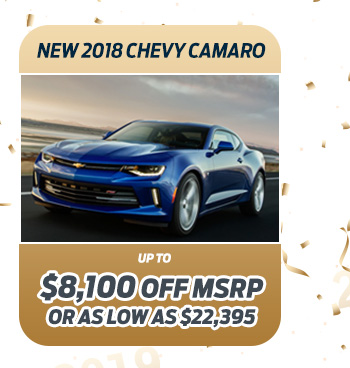 New 2018 Chevy Camaro