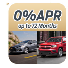 0% APR up to 72 Months