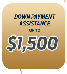 *Down Payment Assistance