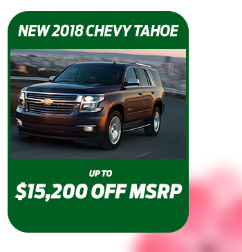 New 2018 Chevy Tahoe