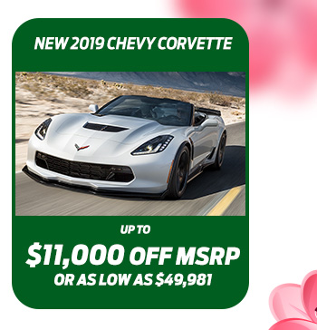 New 2019 Chevy Corvette