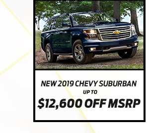 New 2019 Chevrolet Suburban*Up to $11,500 off MSRP