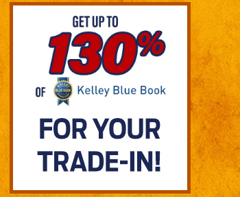Up to 130% Kelley Blue Book