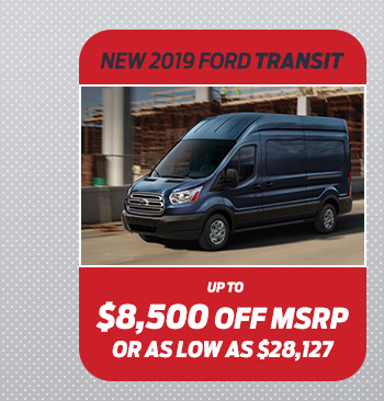 New 2018 Ford Transit