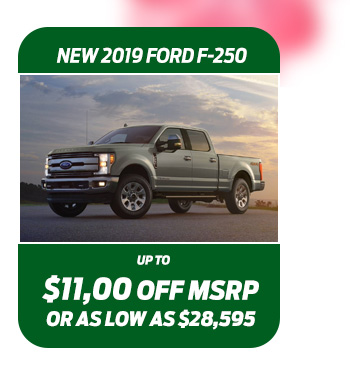New 2019 Ford F-250