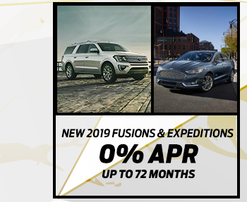 New 2019 F-150 Trucks, 2019 Mustangs & 2019 Explorers0% APR up to 72 months