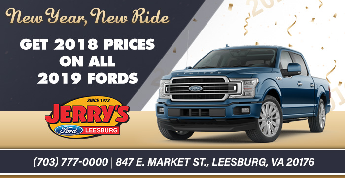 Get 2018 Prices on All 2019 Fords