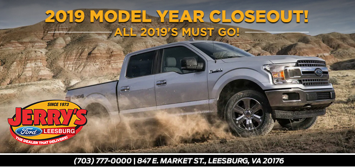 2019 Model Year Closeout!