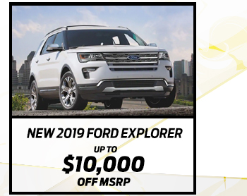New 2019 Ford Explorer*